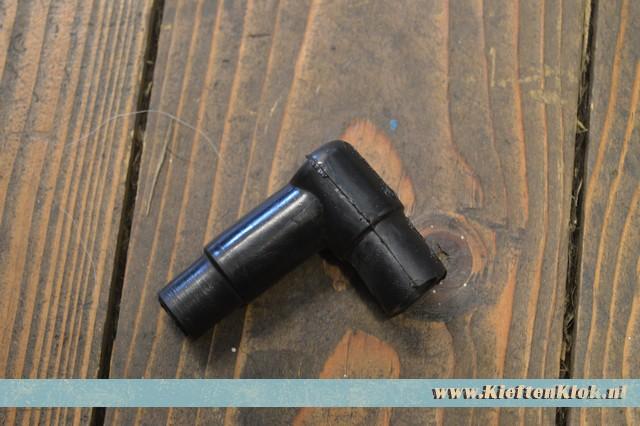 Vacuum aansluitrubber, haaks Type 4 8/73-7/79