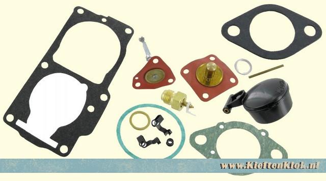 Carburateur pakking set, Solex 32/34PDSI 2 rechts