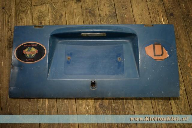 Motorklep, Zee blauw 3/65-7/67 gebruikt