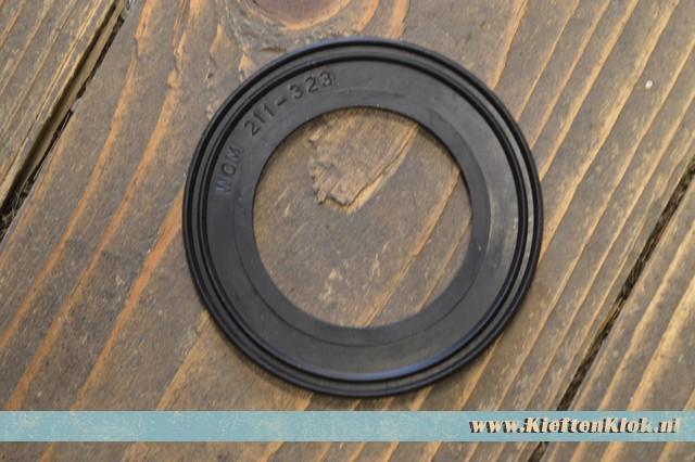 Achteruitrijlicht glas rubber 3/50-7/71