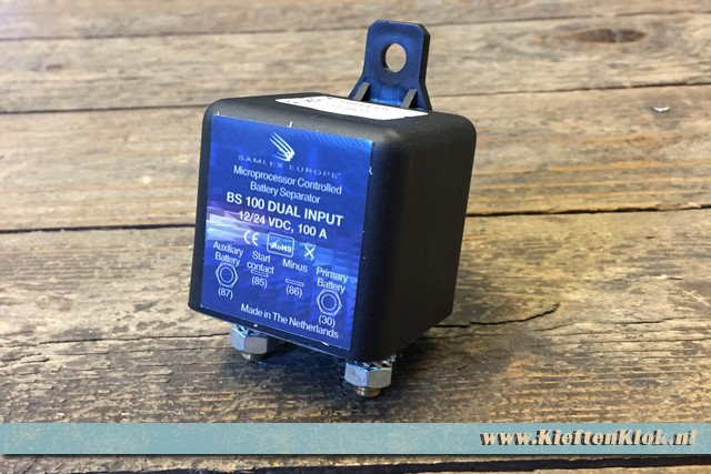 Batterie Fendue Chargeur Relais 12 volt 100 Ampere