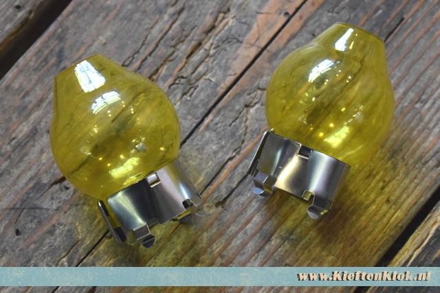 H4 Gele lamp kapjes set 3/50-7/92