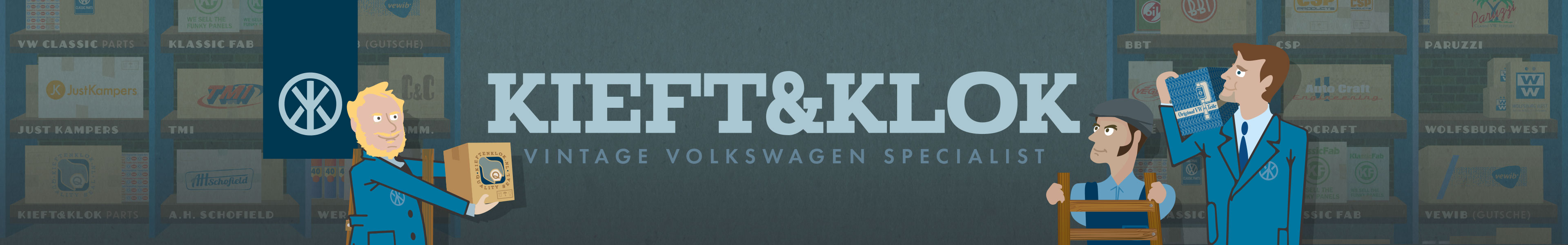 Kieft & Klok Parts
