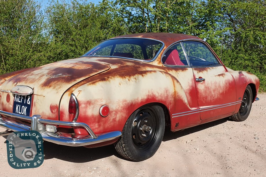 Karmann Ghia patina coupe volkswagen