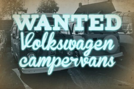 Wanted VW Campervans&Busses volkswagen