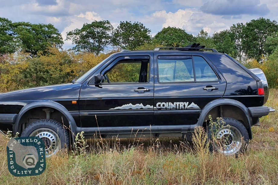 1990 Golf Country chrome edition volkswagen